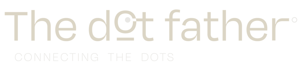 Logo The Dot Father beige
